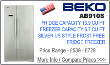 Beko AB910S Fridge Freezer