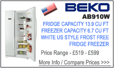 Beko AB910W Fridge Freezer