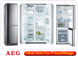 AEG Fridge Freezers Manufacturers