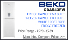 CDA543FW Beko Fridge Freezer
