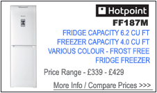 Hotpoint FF187M Fridge Freezer