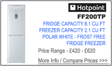 Hotpoint FF200TP Fridge Freezer