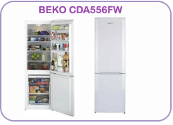 CDA556FW Beko Fridge Freezer