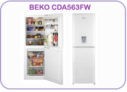 CDA563FW Beko Fridge Freezer
