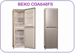 CDA648FS Beko Fridge Freezer