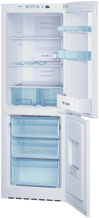 BOSCH 6.6/2.2CF 'A' Frost Free Fridge Freezer