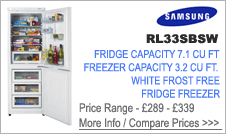 Samsung  RL33SBSW Fridge Freezer