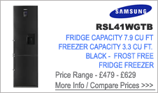 Samsung  RL41WGTB Fridge Freezer