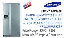 Samsung  RS21DPSM Fridge Freezer
