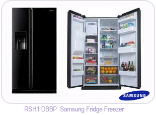 RSH1DBBP Samsung Fridge Freezer