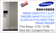 Samsung RSH1DBRS Fridge Freezer