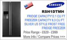 Samsung  RSH1DTMH Fridge Freezer