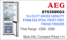 S75358KG AEG Fridge Freezer